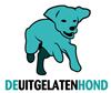 De uitgelaten hond Logo